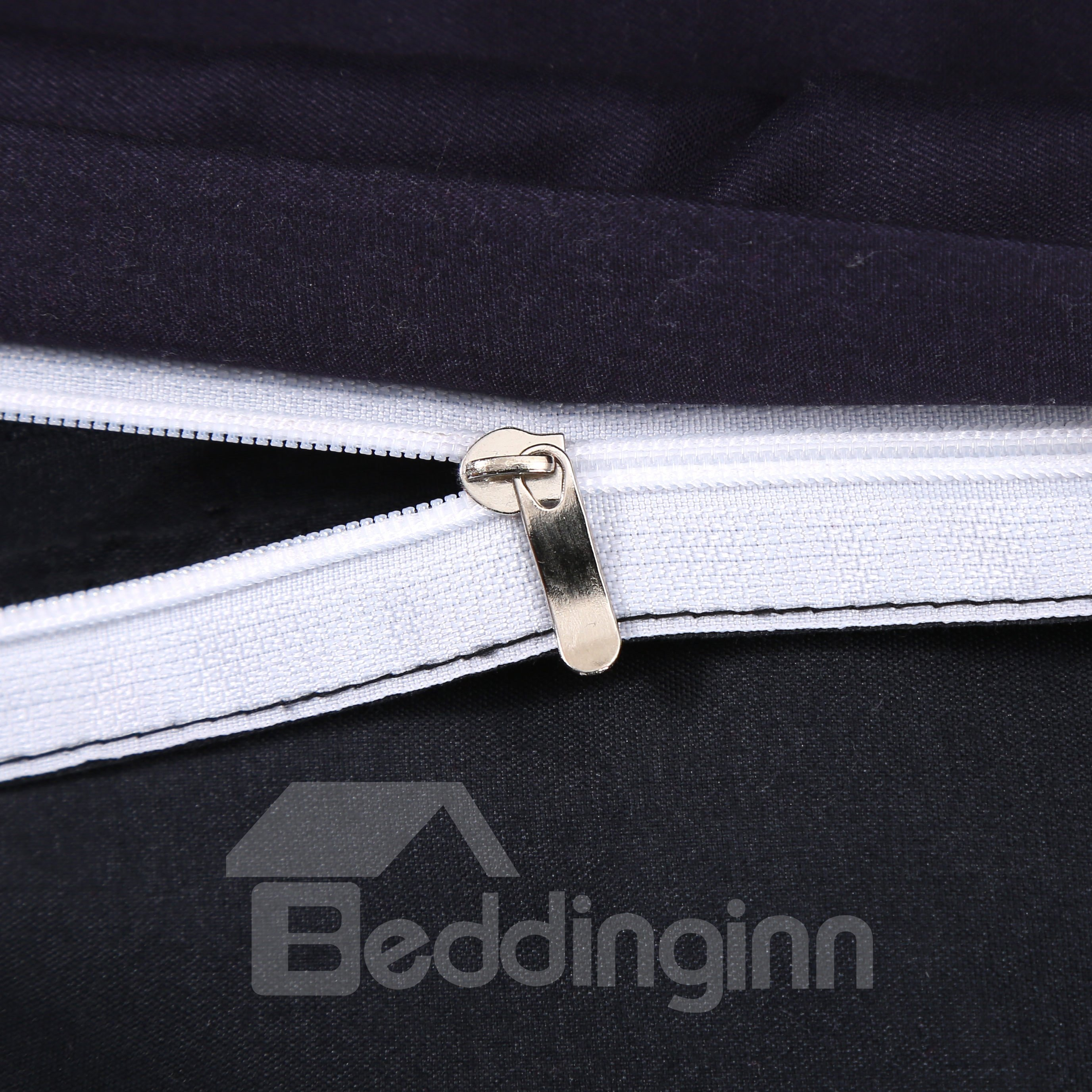 3D Wild Horse Printed Cotton 4-Piece Bedding Sets/Duvet Covers