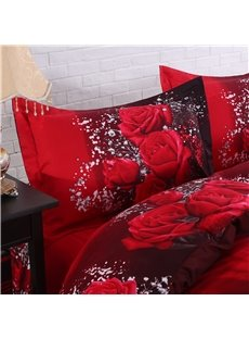 Soft_Cotton_Luxury_3D_Passionate_Red_Rose_Printed_4Piece_Bedding_SetsDuvet_Covers