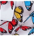 3D Colorful Butterflies Cotton 4-Piece Bedding Sets/Duvet Covers