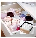 Completely New White Honeycomb Style Drawer Storage Organizer