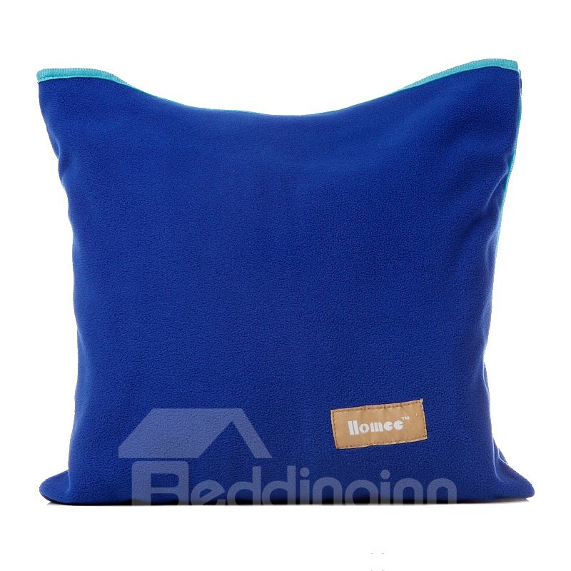 Fantastic Blue Comfortable Multi-Function Convenient Dawdler Blanket