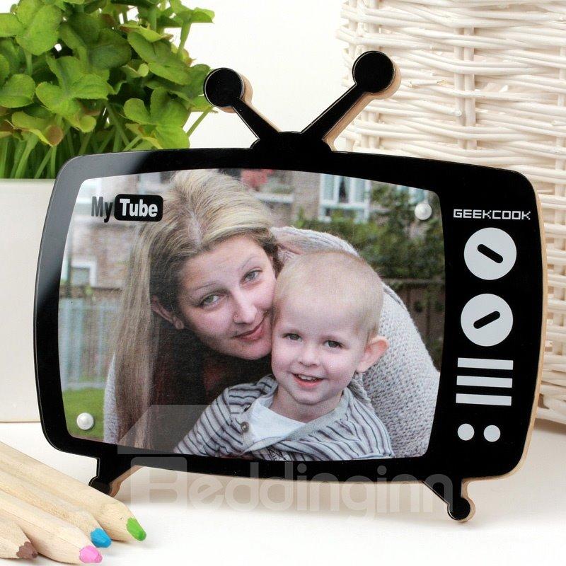 New Arrival Mini Creative MagneticTV Shape Photo Frame
