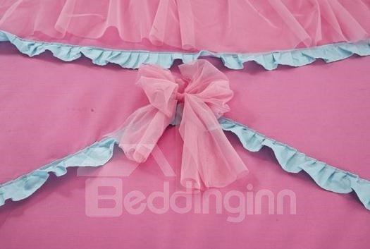 Romantic Princess Style Cute Lace  Bedding Sets 4 Piece Duvet Cover Sets