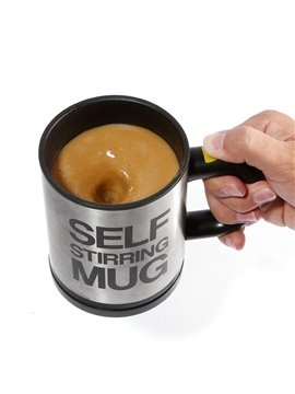 Unique Automatic Electronic Mixing Stainless Self-Stirring Coffee Mug