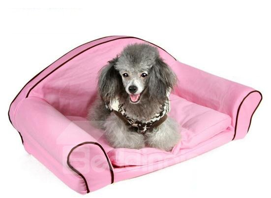 New Arrival Soft Princess Style Cute Fashion Design Pet Bed