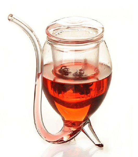 New Arrival Creative Filter Style Teapot Juice Glass