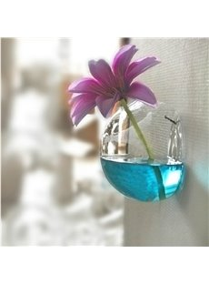 Creative Fashion Hemispherical Suspension Design Flower Vase