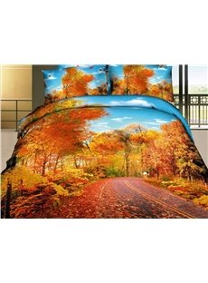 Beautiful_Autumn_Scene_with_Fallen_Leaves_4_Piece_Bedding_Sets