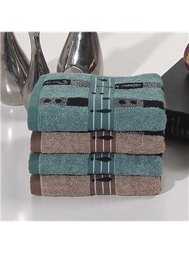 Free Shipping Comfortable 100% Cotton Face & Hand Towel