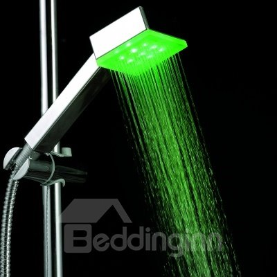 LED Color Changing Shower Head Faucet