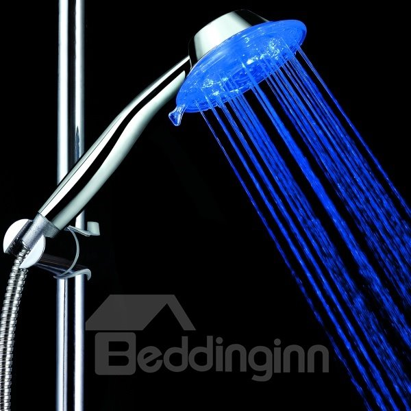 Adjustable Water Volume Three Color faucet changing color by temperature for kitchen/Bathroom