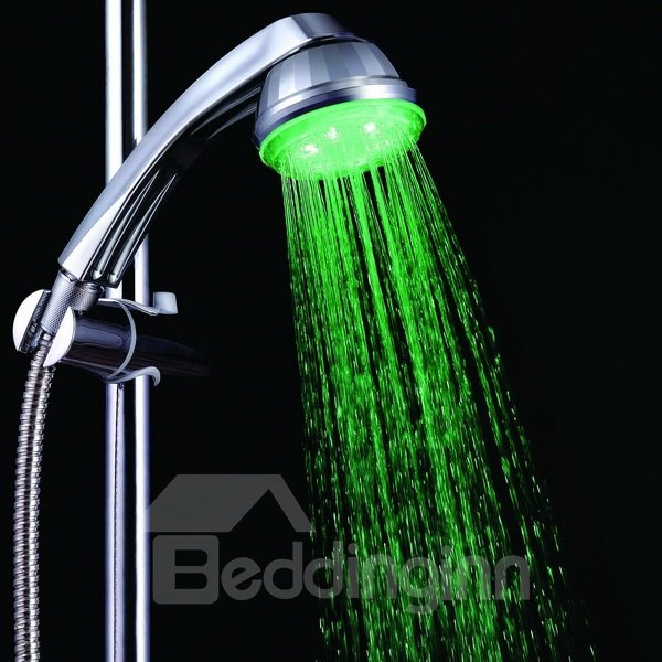 High Quality Three Colors Shower Faucet Changing Color by Temperature