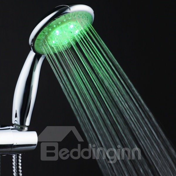 Beautiful Three Color Faucet Changing Color by Temperature for Kitchen/Bathroom
