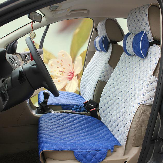 Simple Design Girly Pretty Cute And Lovely Leather Car Seat Cover