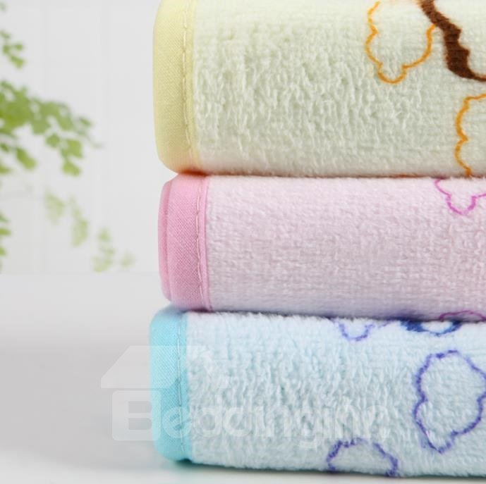 New Arrival Comfortable Skin Care Printed Children Towel