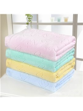 New Arrival High Quality 100% Cotton Skin Care Letter Bath Towel