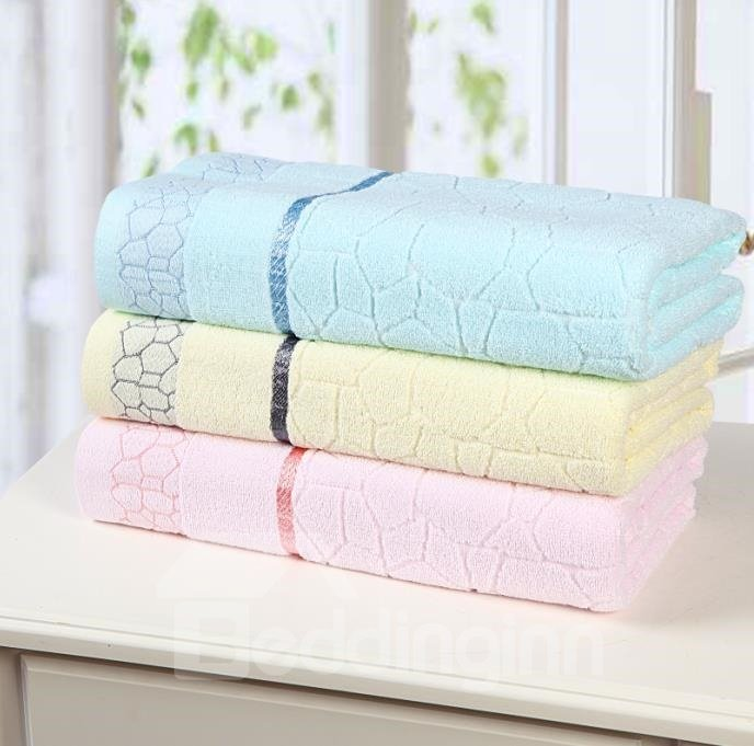 New Arrival High Quality 100% Cotton Skin Care Water Cube Bath Towel