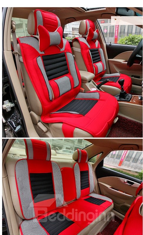 Futuristic Design Contrasting Colors Design Universal Fit Car Seat Covers