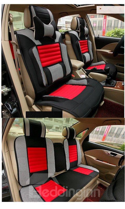 Futuristic Design Contrasting Colors Design Universal Fit Car Seat Covers