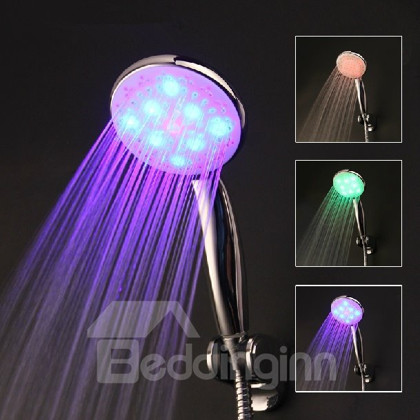 LED Self-Luminous Handheld Shower Head faucet