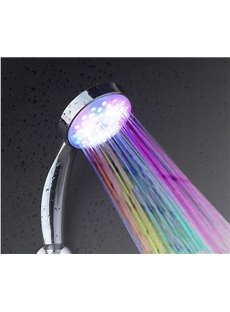 LED Colorful Self-Luminous Handheld Shower Head Faucet