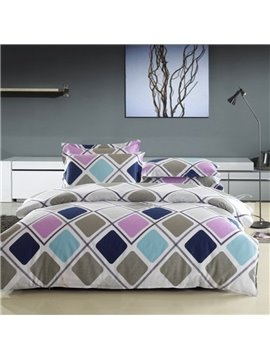 High Quality 4 Piece Graceful Prague Lover bedding Sets