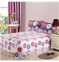 Superior Quality Current 4 Piece Floral Print Bedding Sets