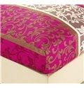 Luxurious Jacobean Reactive Printing 4-Piece Cotton Bedding Sets/Duvet Cover
