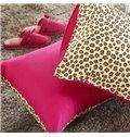 Leopard Style 4 Piece Cotton Bedding Sets/Duvet Cover Sets