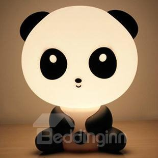 Cute Panda Shape Energy Saving Table Lamp