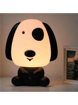 Cute Little Dog Shape Energy Saving Night Table Lamp