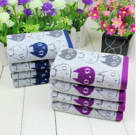 New Arrival Comfortable Skin Care Lovely Elf Print Soft Children Towel