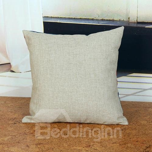 The Star-Spangled Banner Linen Cotton Back Cushion