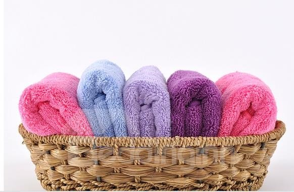 Super Water Absorption Pure Color Thick Towel