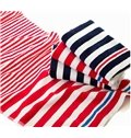 Water Absorption Stripes Print Cotton Towel