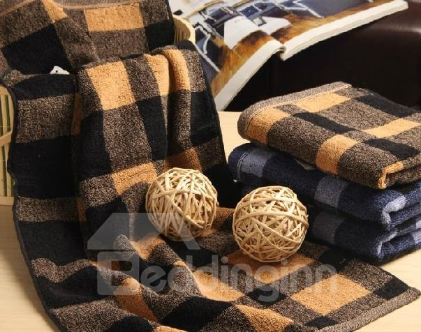 100% Cotton Top Grade Checks Patter Soft Towel