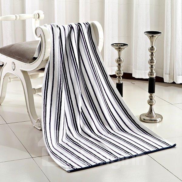 New Arrival Colorful Elegant Stripes Patterns Bath Towel