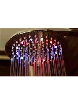 7 Colors LED Contemporary Shower Faucet Head Set