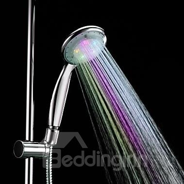 7 Colors LED Chrome Hand Shower - Without Shower Holder