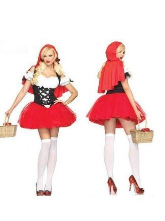 New Arrival  Hoodwinked Dress Christmas Costume