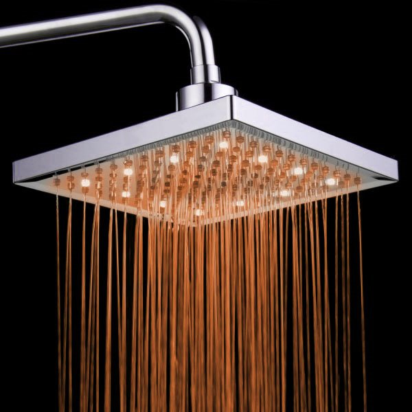 New Style Luxurious  Shower Head with Color Changing LED Light