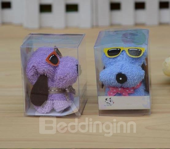 New Arrival Cute Puppy Style Creative Gift Towel