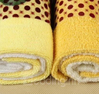 New Arrival Lovely Cake Style 2-Piece Towels