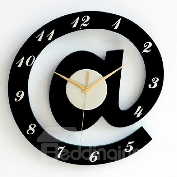Modern Simple Style Creative Symbol Design Wall Clock