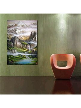 New Arrival Stunning Painted Landscape Print Cross Film Wall Art Prints