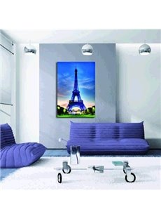Beautiful Paris Eiffel Tower Pattern Framed Film Wall Art Prints