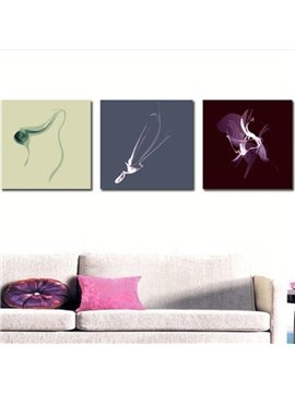 New Arrival Elegant Special Patterns Print 3-piece Cross Film Wall Art Prints