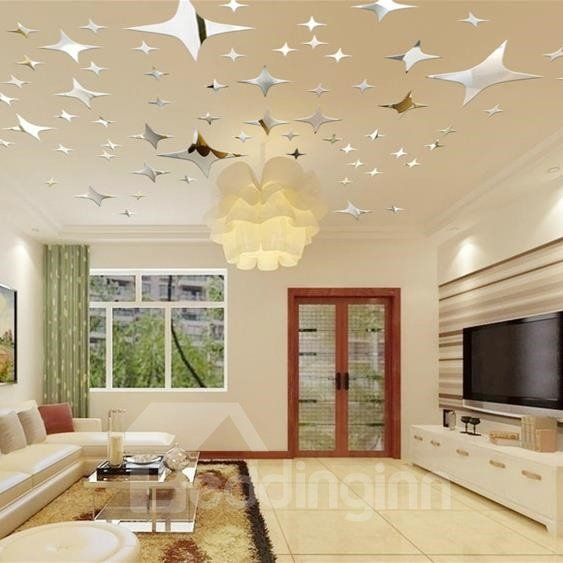 Shinning Cool Stars Style Acrylic Decorative Wall Stickers