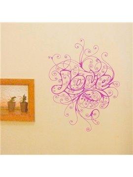 Classic Pure Color Rhapsody of Love Wall Sticker