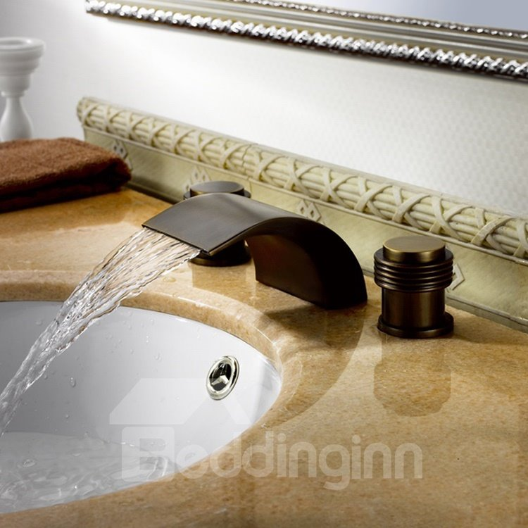 New Arrival ORB Black Bronze Waterfall Faucet
